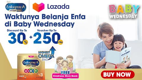 Baby Wednesday Promo Lazada