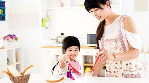 Latih Kemampuan Si Kecil di Rumah