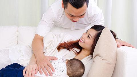 Peran Suami dalam Memenuhi Nutrisi Si Kecil