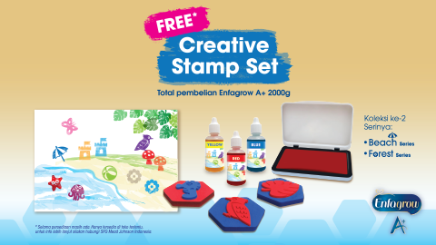 CREATIVE STAMP SET  PROMO