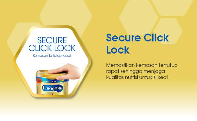 Secure Click Lock